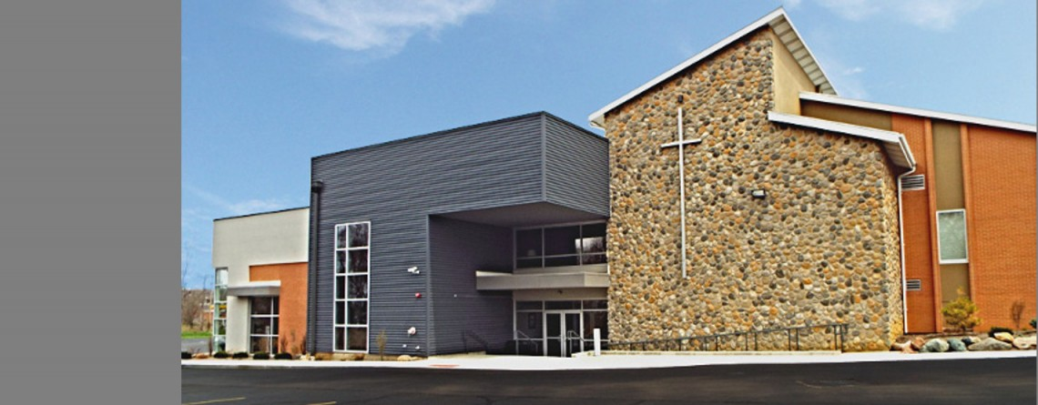 Modern Christian Church Building