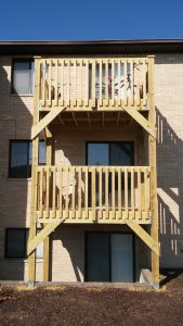 Indian Ridge Condominium Deck Replacement