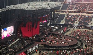 Taylor Swift Red Tour at Dallas Cowboy Stadium