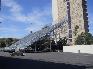 Stations Casino Temporary Concert Venue