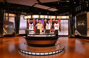 ESPN NBA Set