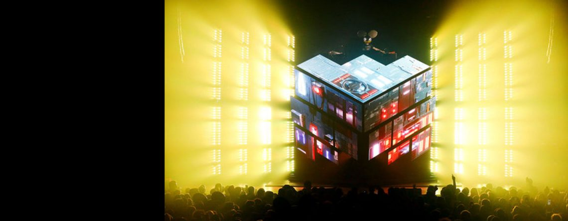 Deadmau5 DJ LED Cube 2.1