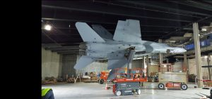 FA-18 Hornet Stand